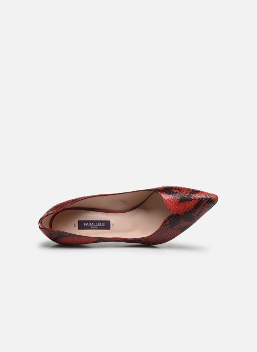 Zapatos de tacón Parallèle ZIRTA Rojo vista lateral izquierda