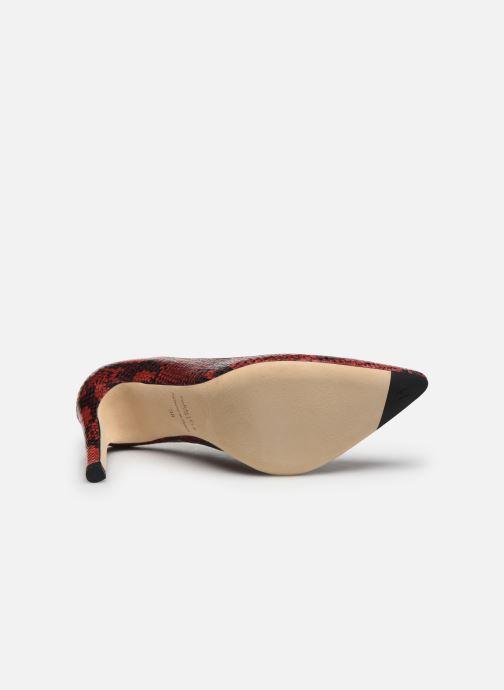 Zapatos de tacón Parallèle ZIRTA Rojo vista de arriba
