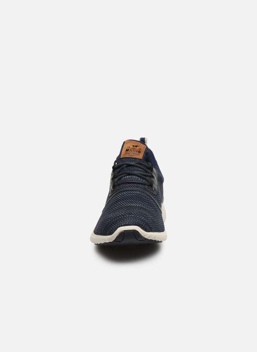 Baskets Mustang shoes Kipsi Bleu vue portées chaussures