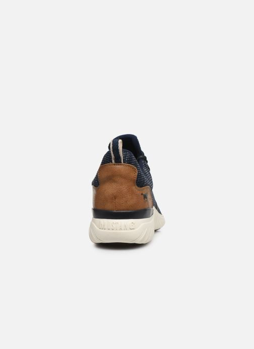 Baskets Mustang shoes Kipsi Bleu vue droite