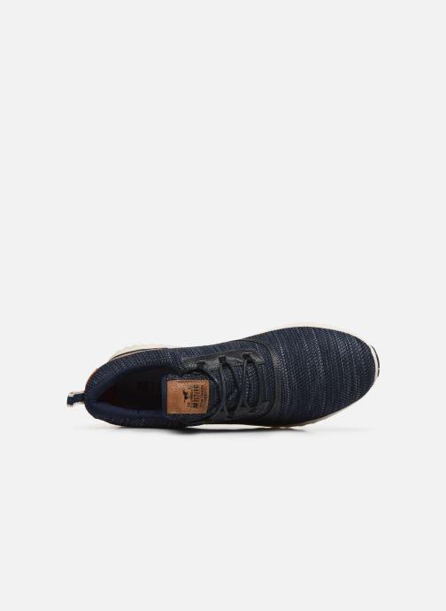 Baskets Mustang shoes Kipsi Bleu vue gauche