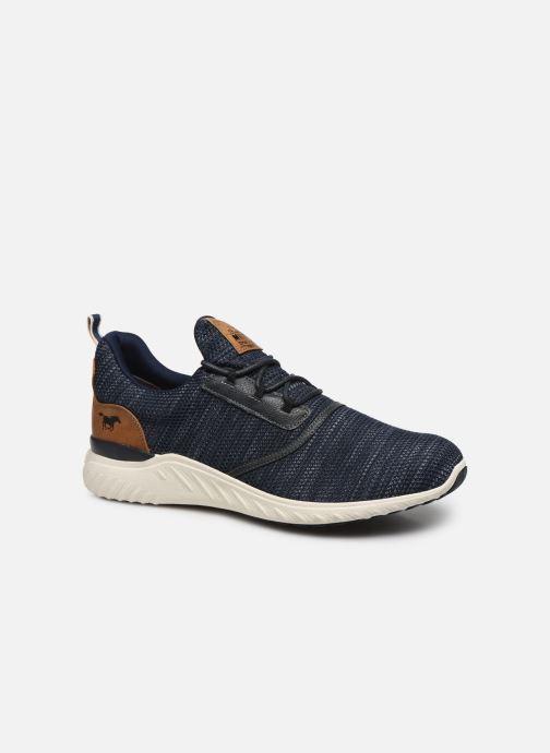 Baskets Mustang shoes Kipsi Bleu vue détail/paire