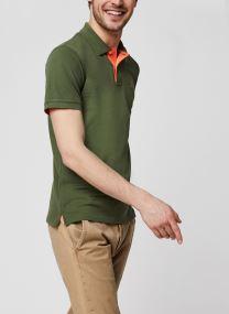 Polo - Contrast Collar Pique SS Rugger