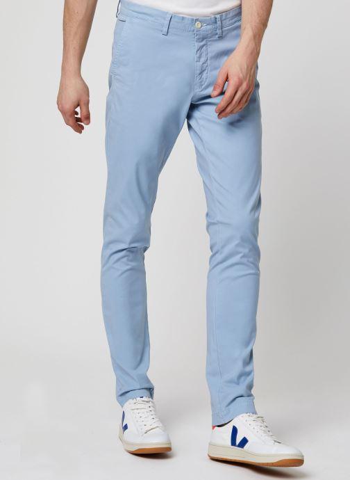 Vêtements GANT Slim Sunfaded Chino Bleu vue détail/paire
