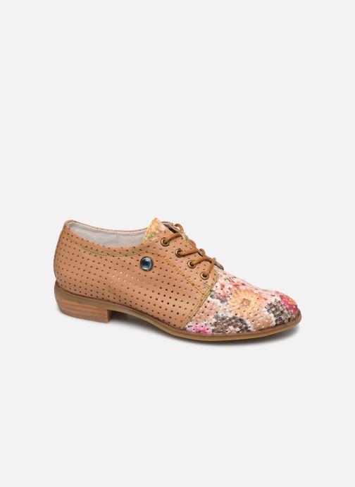 Zapatos con cordones Laura Vita CLCAUDIEO 019 Marrón vista de detalle / par