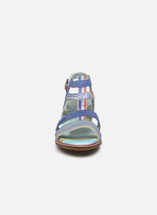 Sandales et nu-pieds Laura Vita DIEGO 03 Bleu vue portées chaussures
