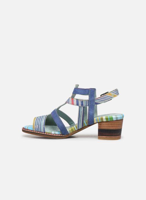 Sandales et nu-pieds Laura Vita DIEGO 03 Bleu vue face