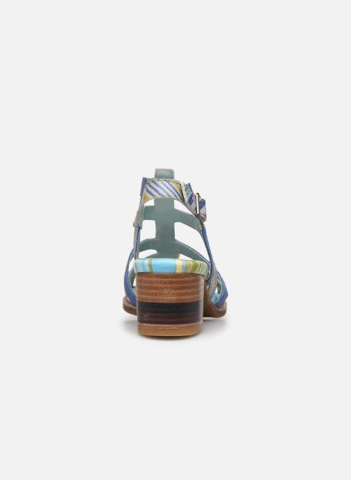 Sandales et nu-pieds Laura Vita DIEGO 03 Bleu vue droite