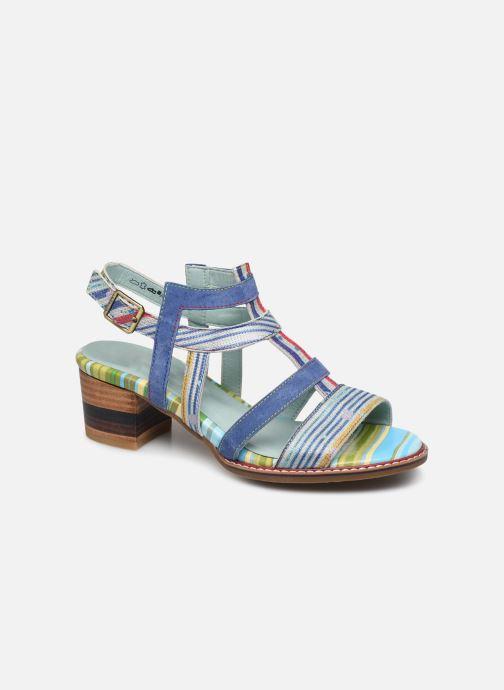 Sandales et nu-pieds Laura Vita DIEGO 03 Bleu vue détail/paire