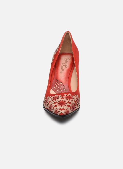 Zapatos de tacón Laura Vita EDCIKAO 12 Rojo vista del modelo