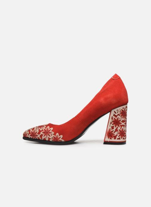 Zapatos de tacón Laura Vita EDCIKAO 12 Rojo vista de frente
