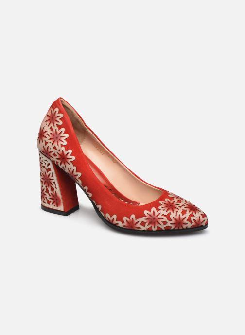 Zapatos de tacón Laura Vita EDCIKAO 12 Rojo vista de detalle / par