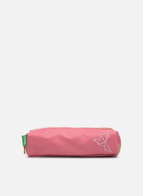 Schulzubehör Tann's NINON TROUSSE DOUBLE rosa detaillierte ansicht/modell