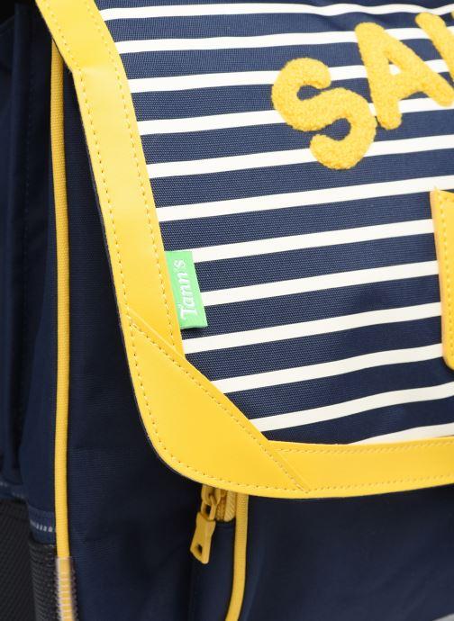 Schulzubehör Tann's SACHA 38CM blau ansicht von links
