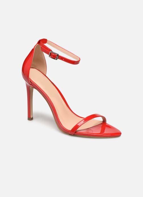 Sandales et nu-pieds Steve Madden ABBY Rouge vue détail/paire