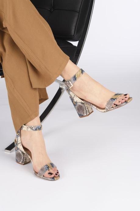 Sandales et nu-pieds Steve Madden MALIA Multicolore vue bas / vue portée sac