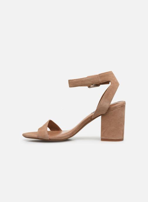 Sandales et nu-pieds Steve Madden MALIA Marron vue face