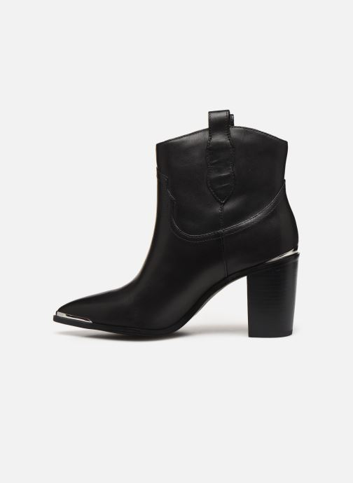 Boots en enkellaarsjes Steve Madden ZORA Zwart voorkant