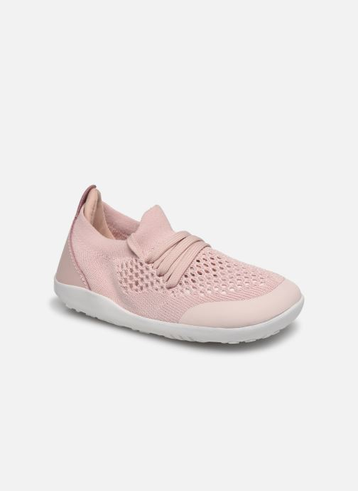 Baskets Bobux Play Knit Rose vue détail/paire