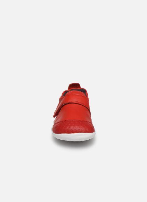 Chaussons Bobux Xplorer Summer Rouge vue portées chaussures