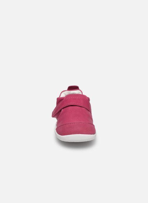 Chaussons Bobux Xplorer Summer Rose vue portées chaussures