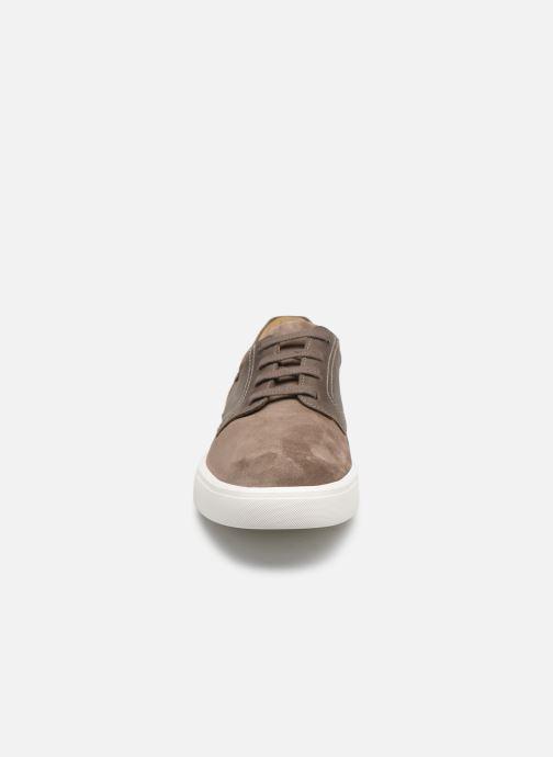 Sneaker Mephisto Calisto grau schuhe getragen