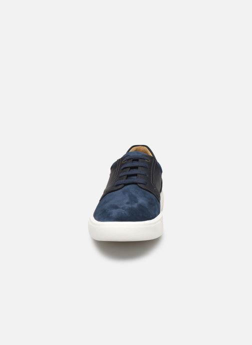 Baskets Mephisto Calisto Bleu vue portées chaussures
