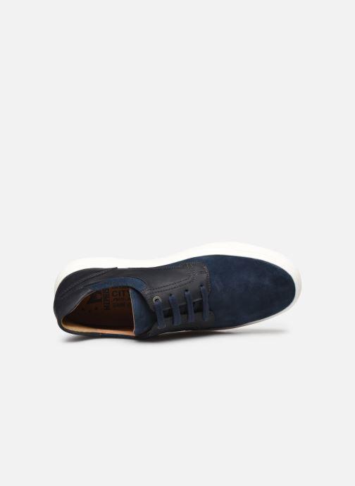 Sneakers Mephisto Calisto Azzurro immagine sinistra
