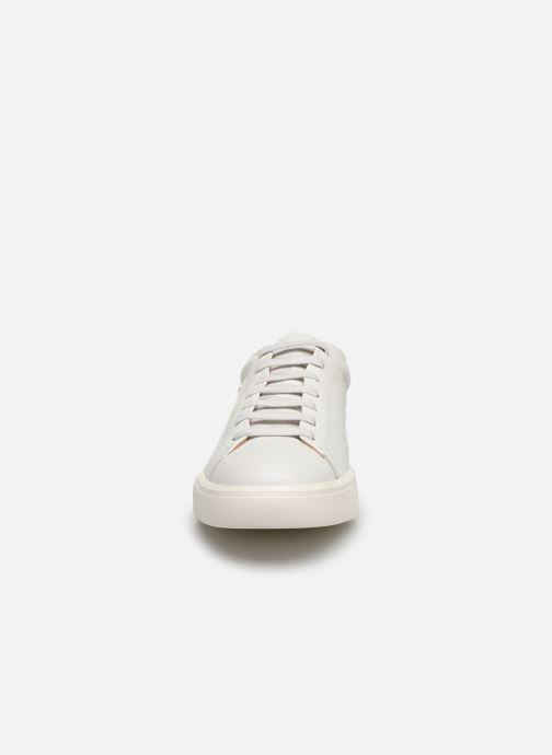 Baskets Mephisto Cristiano Blanc vue portées chaussures
