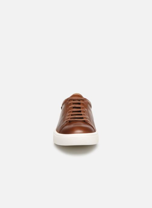 Baskets Mephisto Cristiano Marron vue portées chaussures