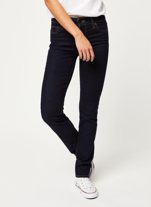 Vêtements Levi's Jean slim 712 Slim Bleu vue détail/paire