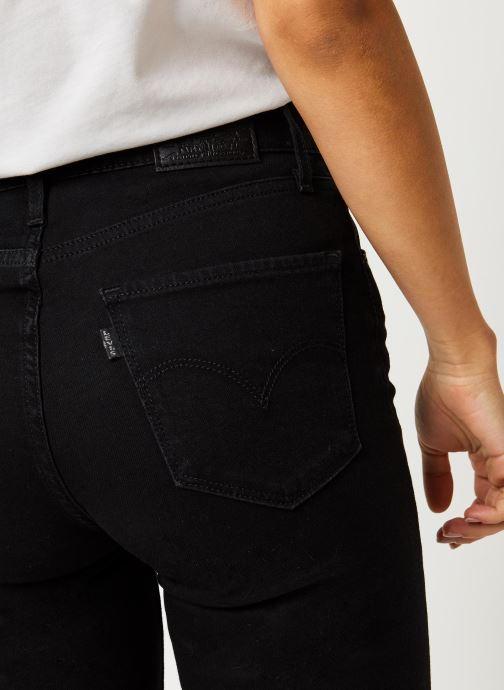 Vêtements Levi's Jean slim 721 High Rise Skinny Noir vue face