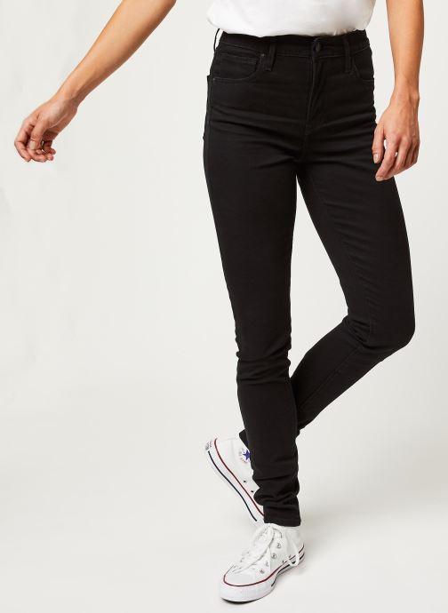 Kleding Levi's Jean slim 721 High Rise Skinny Zwart detail