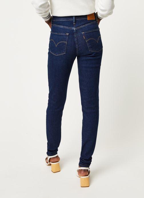 Kleding Levi's Jean slim 721 High Rise Skinny Blauw model