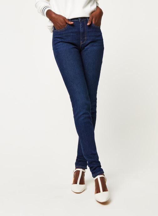 Kleding Levi's Jean slim 721 High Rise Skinny Blauw detail