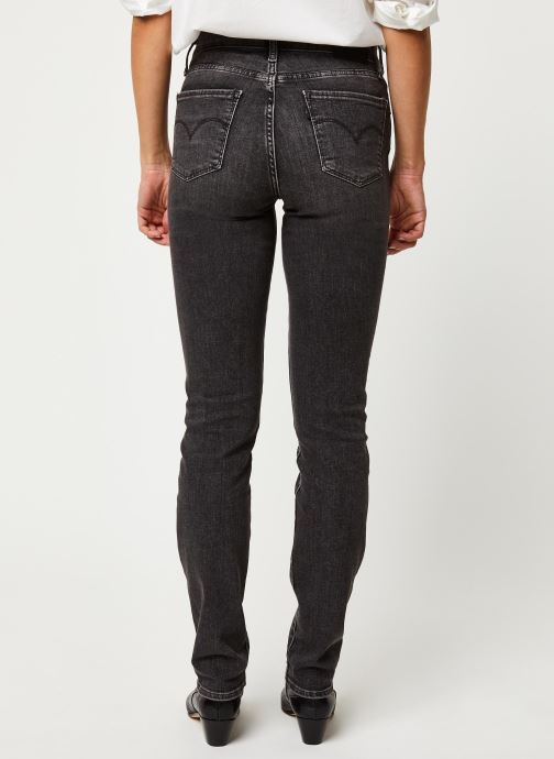 Kleding Levi's Jean slim 724 High Rise Straight Grijs model