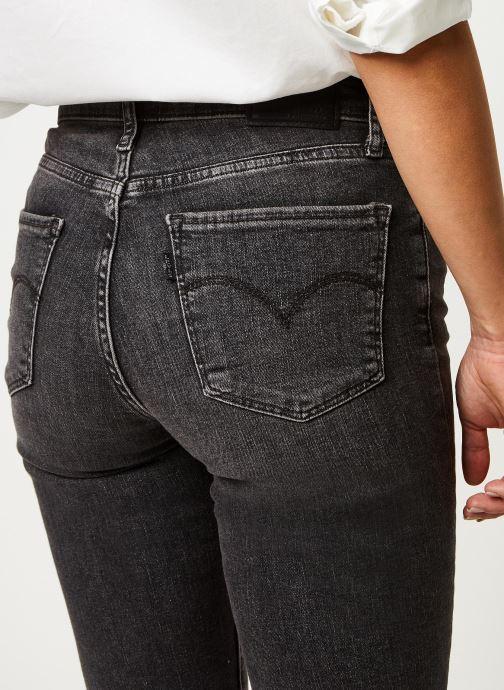 Kleding Levi's Jean slim 724 High Rise Straight Grijs voorkant