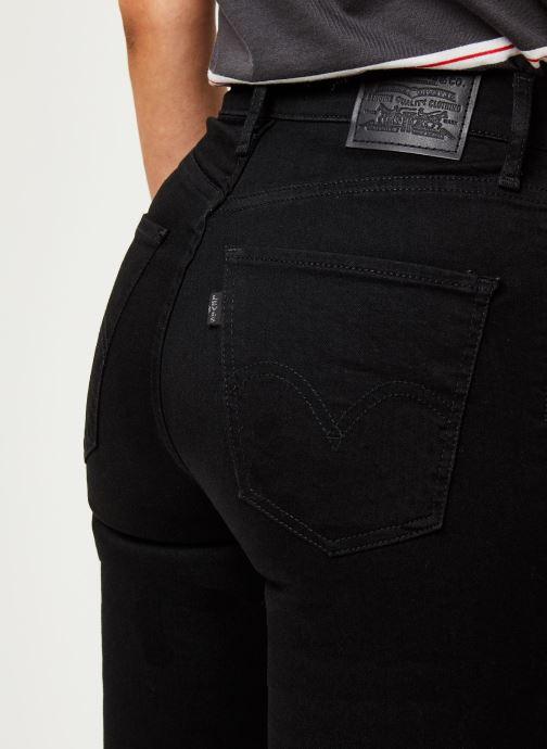 Kleding Levi's Jean skinny Mile High Super Skinny Zwart voorkant