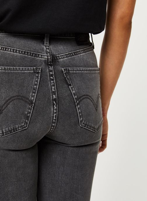 Kleding Levi's Jean skinny Mile High Super Skinny Grijs voorkant