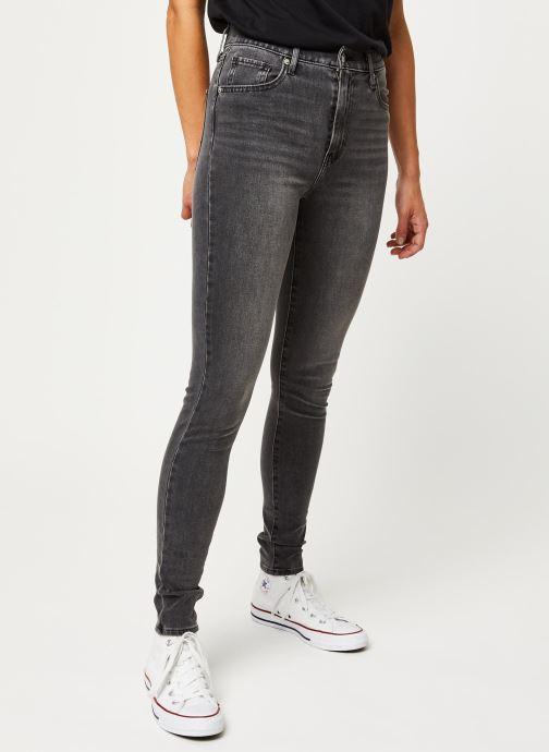 Kleding Levi's Jean skinny Mile High Super Skinny Grijs detail