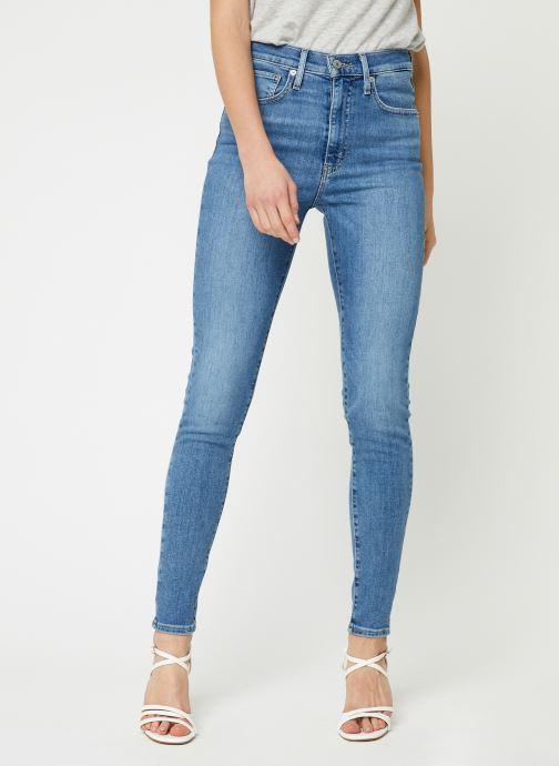 Kleding Levi's Jean skinny Mile High Super Skinny Blauw detail