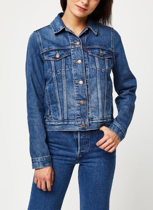 Levi's Veste en jean Original Trucker (Bleu)