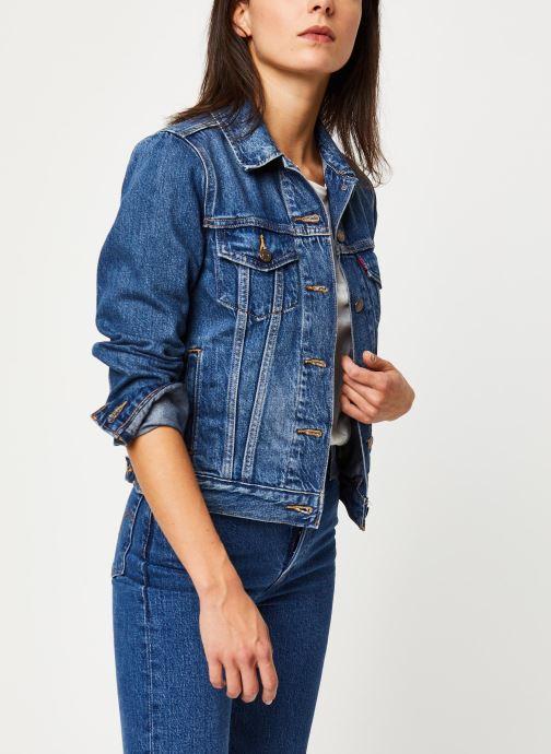 Vêtements Levi's Veste en jean Original Trucker Bleu vue détail/paire