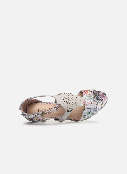 Sandales et nu-pieds Laura Vita Alcbaneo 96 Blanc vue gauche