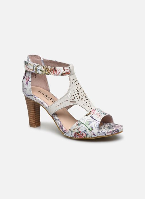 Sandales et nu-pieds Laura Vita Alcbaneo 96 Blanc vue détail/paire