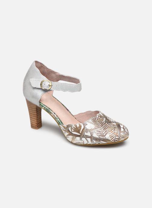 Høje hæle Laura Vita Albaneo 54 Beige detaljeret billede af skoene