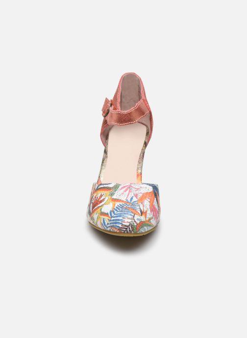 Escarpins Laura Vita Albaneo 54 Orange vue portées chaussures