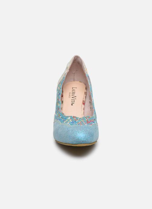 Zapatos de tacón Laura Vita Alcbaneo 56 Azul vista del modelo