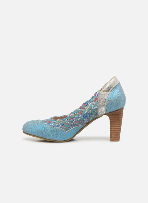 Zapatos de tacón Laura Vita Alcbaneo 56 Azul vista de frente
