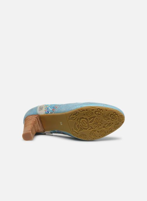 Zapatos de tacón Laura Vita Alcbaneo 56 Azul vista de arriba